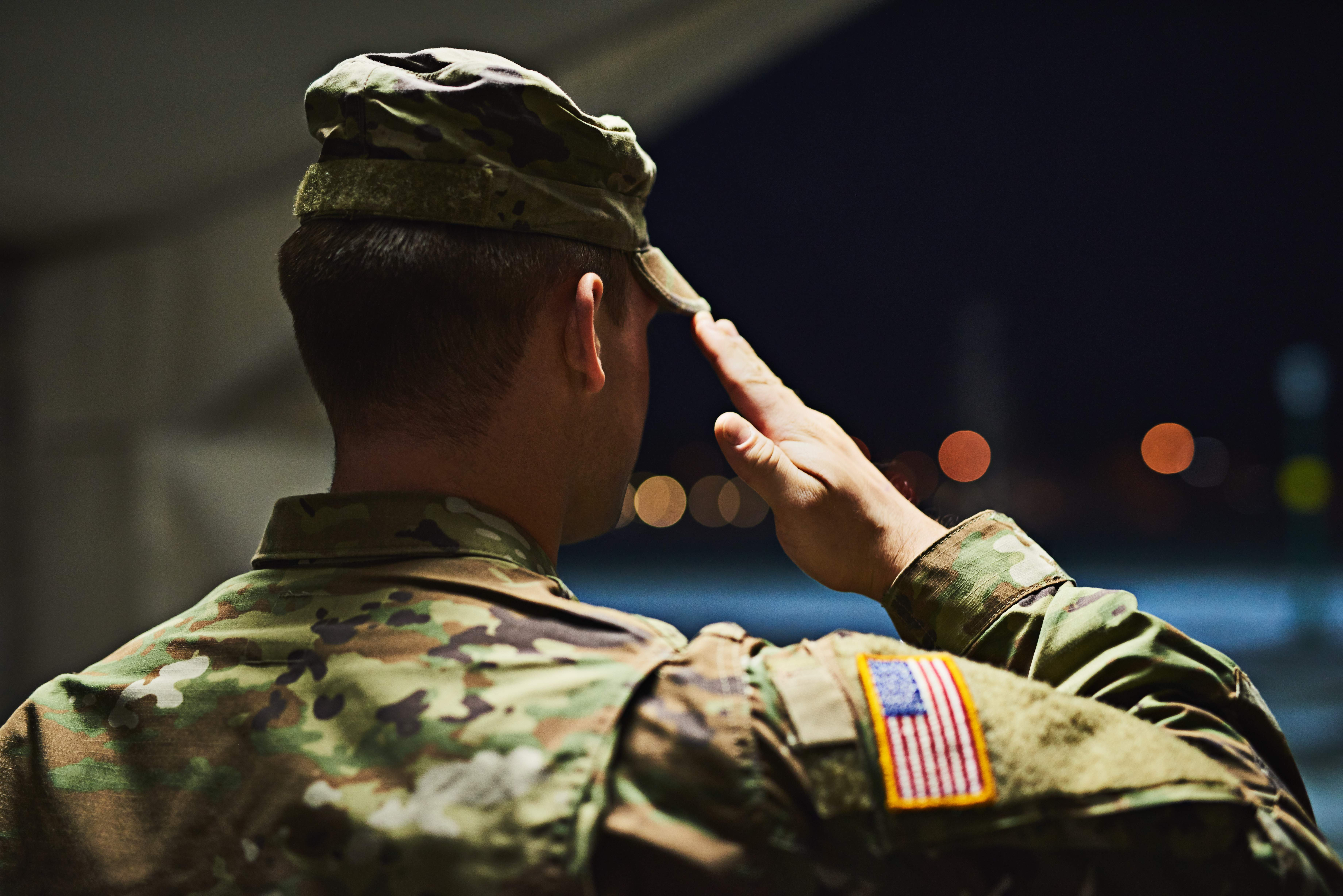Loyal is the soldier who loves his country
